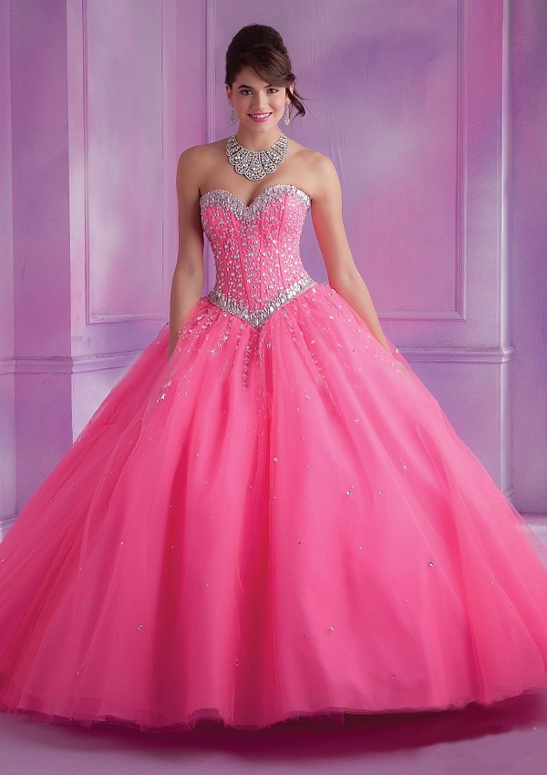 2015-Latest-Design-Ball-Gown-Quinceanera-Dresses-Pink-With-Jacket-Dress-15-Years-Sweetheart-Beaded-Bodice (4)