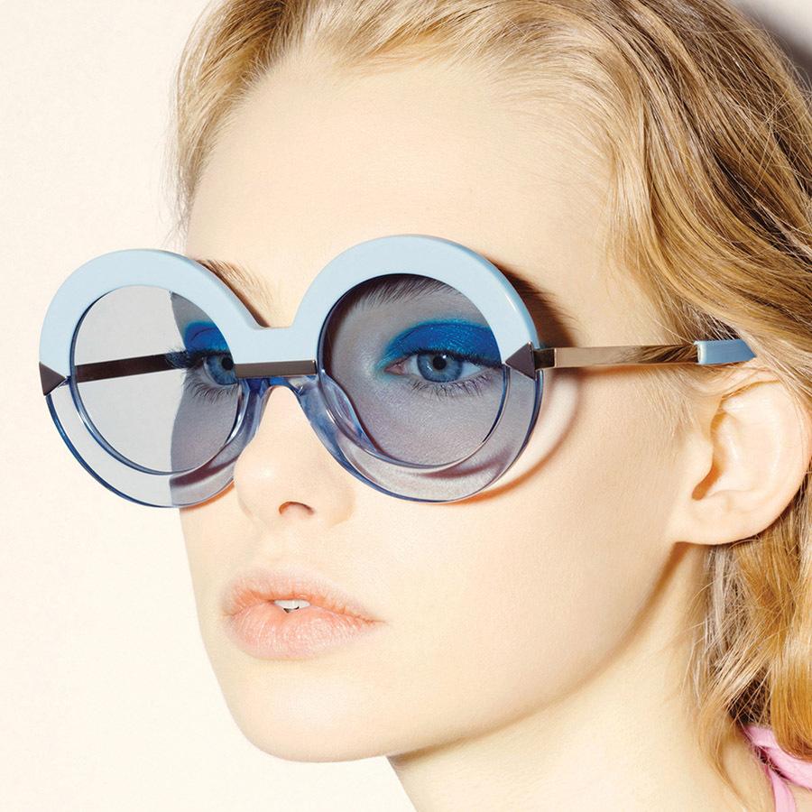 Secret Cool Sky Blue Steampunk Sunglasses For Women And Men 2016 New Brand Glasses Fashion Vintage Gafas Oculos De Sol Feminino(China (Mainland))