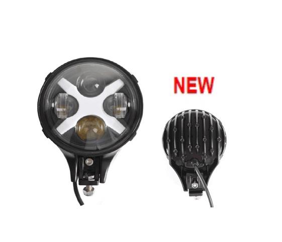 Фотография 6Inch 60W LED Driving Work Lights Universal Pedestal Mount Offroad 4WD Lamp