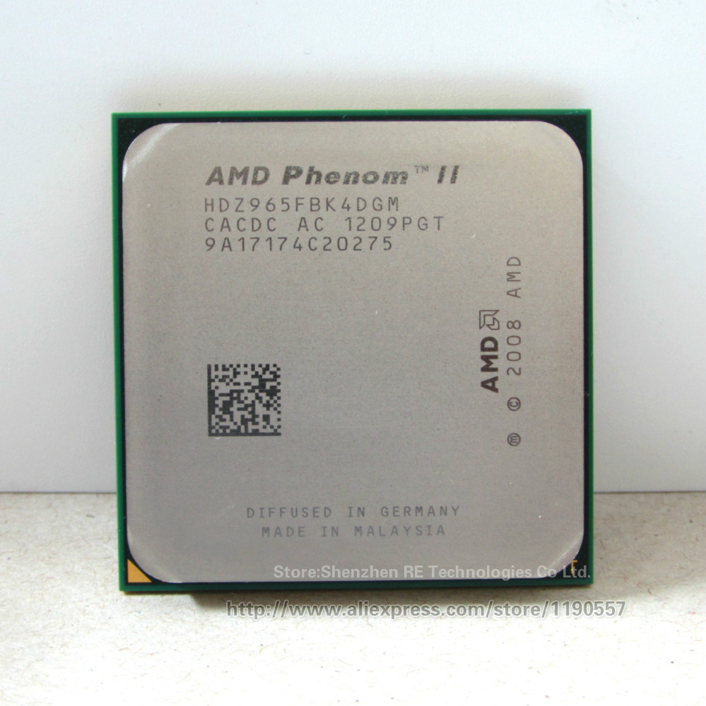 Free shipping AMD Phenom II X4 965 Processor(3.4GHz/6MB L3 Cache/Socket AM3)Quad-Core scattered pieces cpu(China (Mainland))