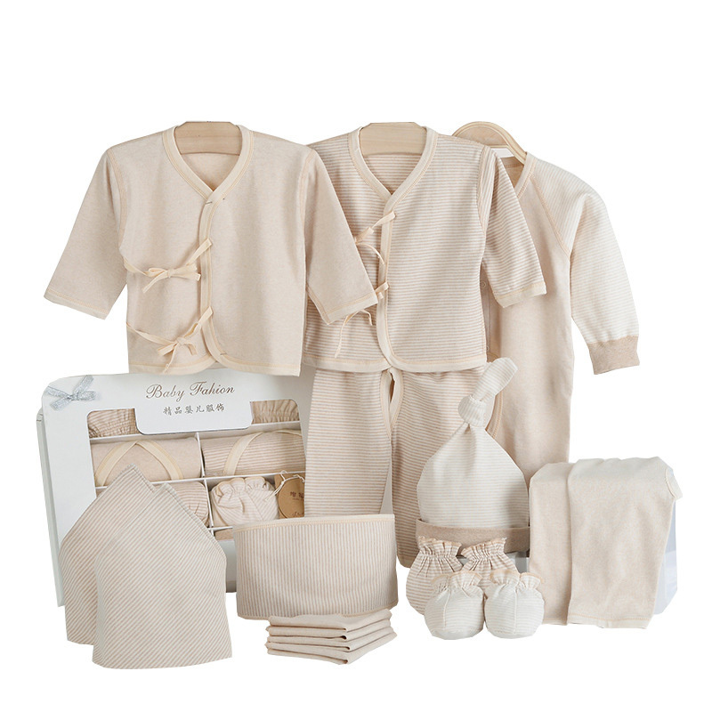 Hot Wholesale 17PCS 100% Cotton Summer set The newborn baby supplies Newborn Baby Gift Set Baby Clothes Set Clothes Baby<br><br>Aliexpress