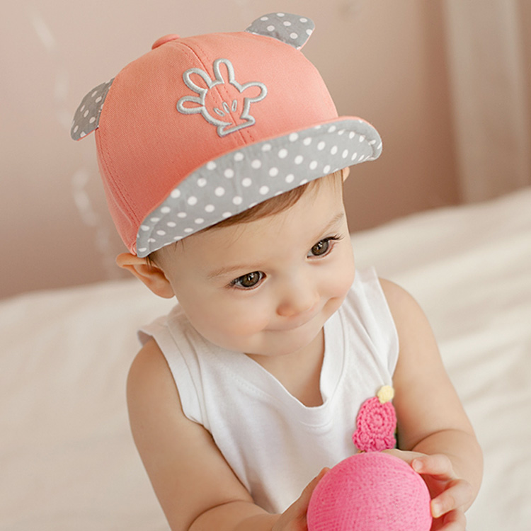 Baby Baseball cap infant hat cute baby hiphop cap(China (Mainland))