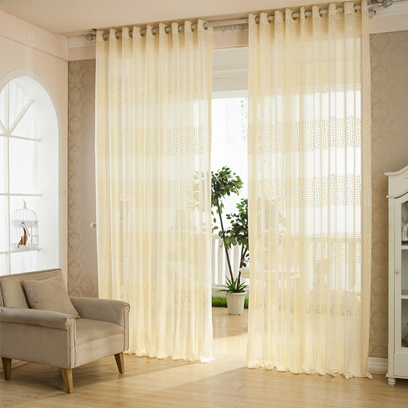 Fashion High Quality Tulle Moderncurtains For Living Room