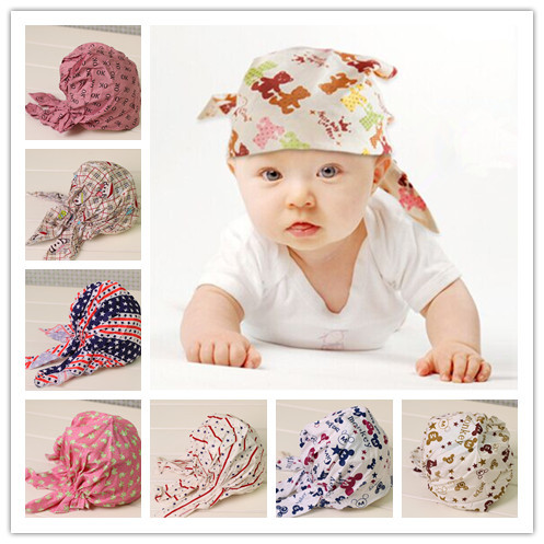 children newborn baby boy girl hair bandana head wraps knot headband turban fashion headwraps headbands headdress accessories(China (Mainland))