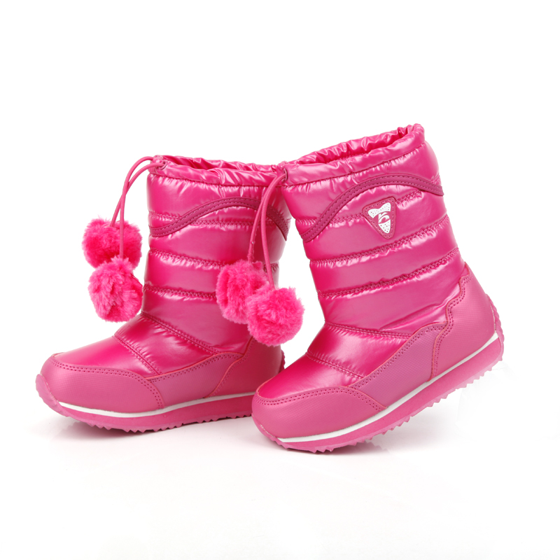 white boots 2014 children snow boots warm winter