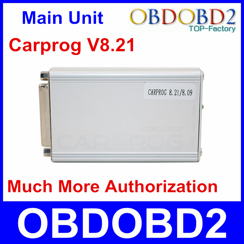 Carprog Main Unit V8.21 Firmware Perfect Online Version Much More Authorization For Car Odometers Dashboards Immobilizer Repair(China (Mainland))