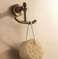 Аксессуары для ванной комнаты алюминиевого античный цвет ткани крюк + держатель бумаги + одной стойке полотенце бар ванной аппаратных набор