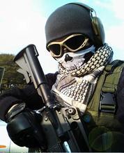 Air force Skull Tubular Protective Dust Mask Bandana Motorcycle Polyester Scarf Face Neck Warmer Mask(China (Mainland))