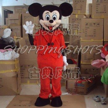 Mickey cartoon mouse MASCOT COSTUME R00449 Fancy Dress free shipping