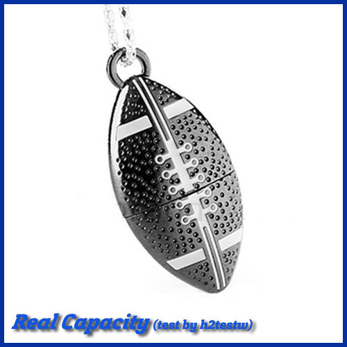 free shipping pendrive football usb flash drive metal pen drive american rugby usb stick 4gb 8gb 16gb 32gb sports gift(China (Mainland))