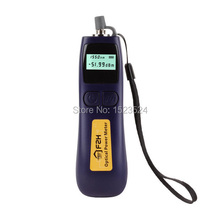 Free Shipping 5pcs/lot -70~+10dBm Telecommunication FHP12A Handheld Mini Fiber Optical Power Meter