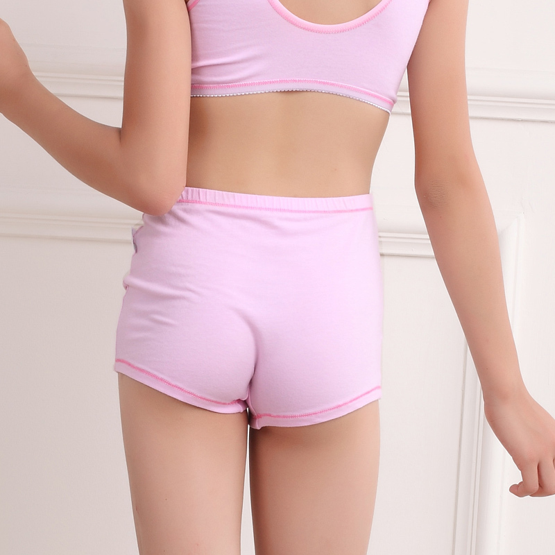 Designed with comfort and fit in mind, our girls' underwear is made with soft cotton, no ride up leg bands and itch-free, tag-free labels. Available in a variety of colors, prints and styles, including hipsters, briefs, bikinis and boy shorts, our undies are the perfect fit for girls of all ages.