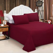 2015 NEW Free Shipping Solid BEDDING 4PCS Bedding Set pillowcase queen king size QUILT COVER BED SET(China (Mainland))