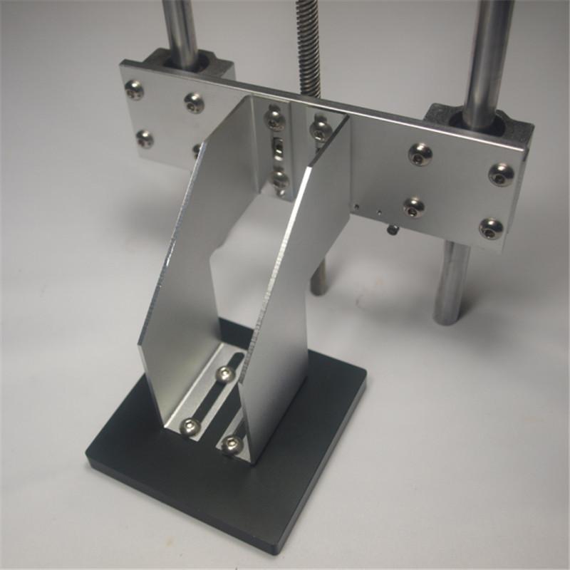 3 D printer Z axis build platform system kit for DIY UV resion DLP 3D printer build plate support arm+TR8 lead screw delrin nut<br><br>Aliexpress