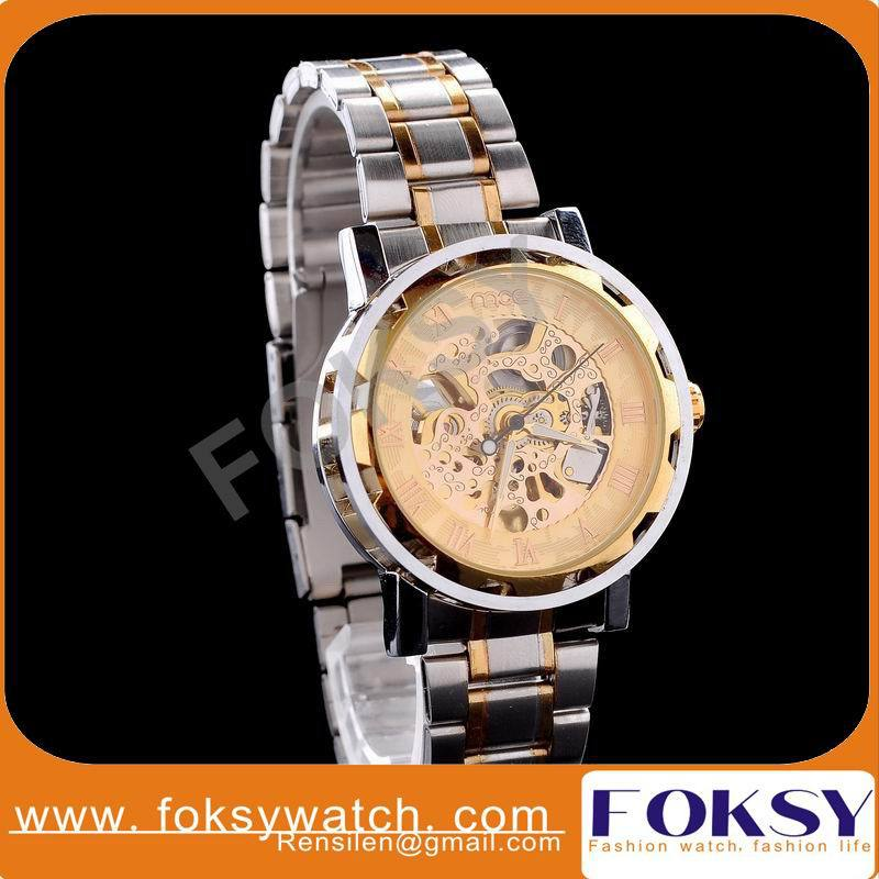 Hot Sale Luxury brand skeleton auto mechanical watches Men wristwatches deluxe sport gift watches casual dress watches hot 0031<br><br>Aliexpress