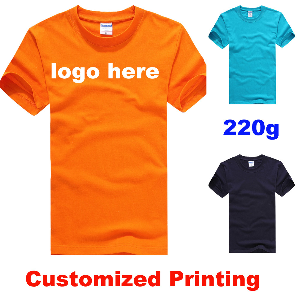 Custom printing t shirt print service china heat transfer T shirt printing china