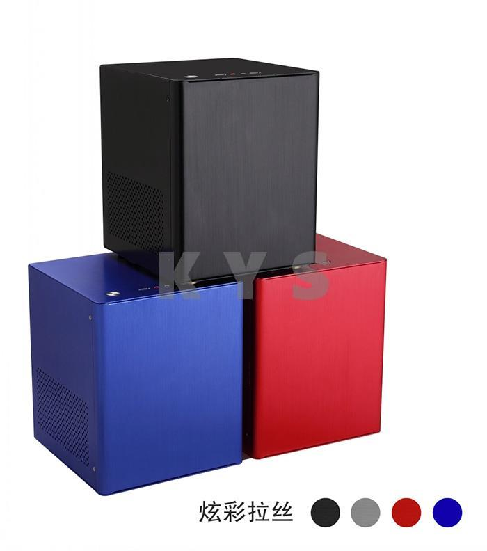 Cemo Mini ITX Computer Case Chassis HTPC 2400 2600 Full Aluminum USB3.0 PS2 Power Supplier<br><br>Aliexpress