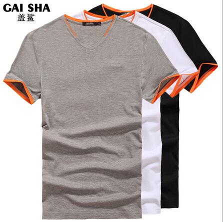 Luxury brand top tee 2015 summer solid color element men t for Best mens t shirt brands