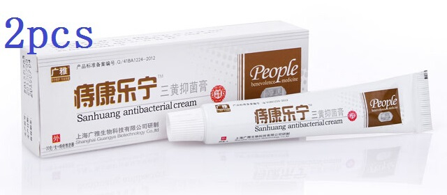 2* 20g Powful hemorrhoids ointment Musk body cream hemorrhoids care medication anal fissure bowel bleeding treatment Cream(China (Mainland))