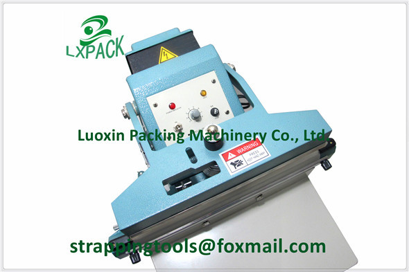 LX-PACK 350mm Foot Operated Impulse Sealers for sealing most types of plastic bags High Performance Sealer Cutter(China (Mainland))
