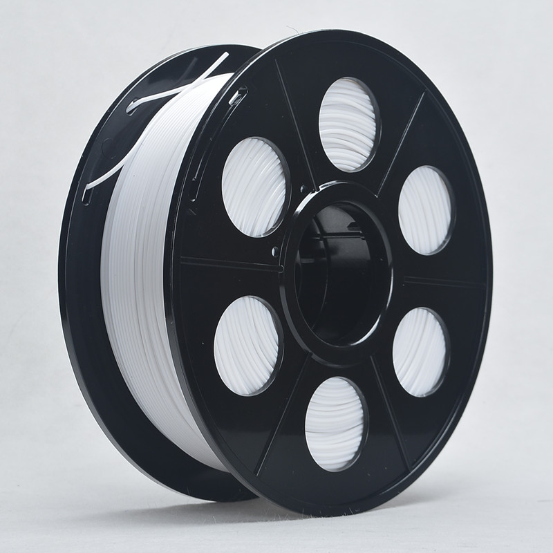 3D Printer ABS Filament 3mm 1kg Spool for 3D Printing No bubble About 135m White Color Tolerance 0.02mm For MakerBot RepRap UP(China (Mainland))