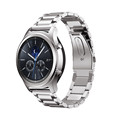 Stainless Steel Watch Band Strap Metal Clasp stainless steel Link bracelet For Samsung Gear S3 Classic