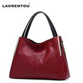 LAORENTOU Genuine Cow Leather Women s Handbag Soft Crossbody Bag Ladies Leather Shoulder Bag Fashion Real