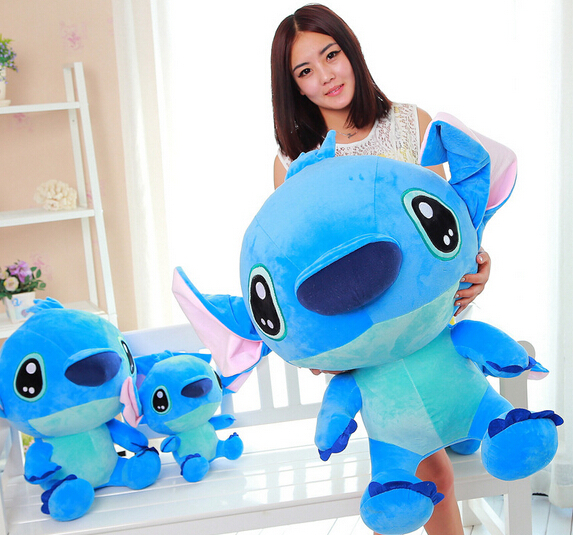 2015 Cute Soft Stitch Plush toy from Lilo and Large pillow Stitch Toys for girls and boys, Plush Animals Christmas gifts 35CM(China (Mainland))