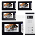 DIYSECUR Quality 7 4 Wired Apartment Video Door Phone Audio Visual Intercom Entry System IR Camera