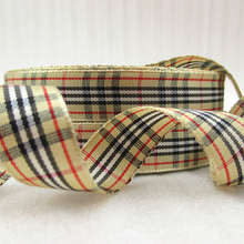 50Y44040 5/8″(16mm) Scotish ribbon high quality printed polyester ribbon 50 yards, DIY handmade materials, wedding gift wrap