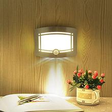 2016 Wireless Light-operated Motion Sensor Battery Power Sconce Led Wall Lamp 10 LED Human Induction Nightlight  (China (Mainland))