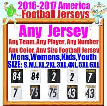 2016 Sport Jersey 12 Terry Bradshaw 36 Jerome Bettis 43 Troy Polamalu 50 Ryan Shazier Custom Cheap Sports Jerseys Mens Womens(China (Mainland))