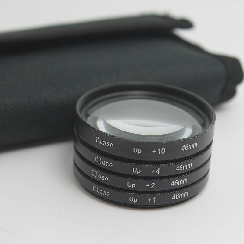 46 mm Close up Macro +1 +2 +4 +10 SLR Lens Filter Kit Set For Nikon Canon Camera(China (Mainland))