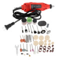 230W Mini Drill Grinder Electric Power Tools 100Pcs Dremel Accessories Set Grinding Polishing Sanding Tools Rotary