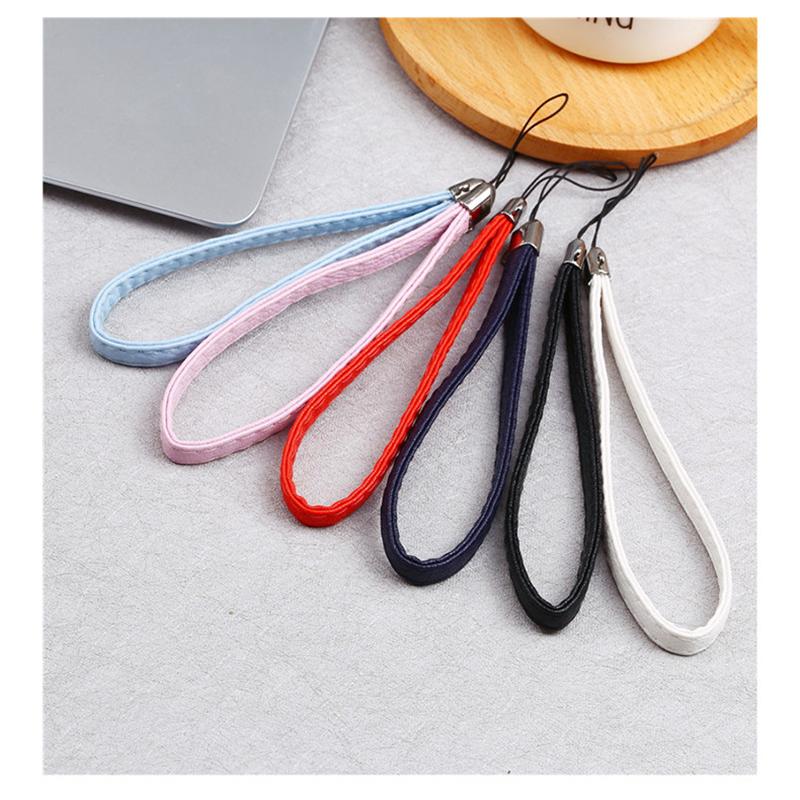 Panic Buying Hot Sale Mobile phone lanyard leather lanyard u disk hanging lanyard 10 wholesale(China (Mainland))