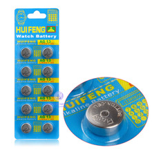 Free Shipping +Hot Selling +20 pcs button cell AG13 LR44 SR44SW SP76 L1154 RW82 RW42 357A for  Wholesale