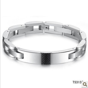 2015 New Stainless Steel Men Bracelets Male Jewelry Accessories Classic Retro Friendship Wrist Band Wristband - Fully Trusty store
