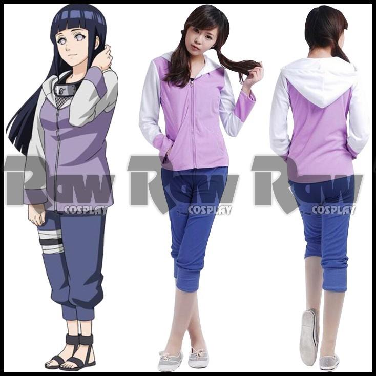 Naruto Hinata Hyuga 2nd generation cosplay costumes Naruto Uzumaki wife Hinata Hyuga cosplay uniform cloth for halloween RAW0348(China (Mainland))