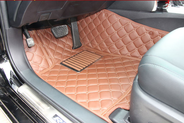 customize car floor mats foot mat rugs set attractive whole auto carpet universal h3/5/6 haval the great wall c30 c50 cc leather(China (Mainland))