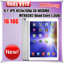 Original Onda V919 3G Tablet PC 9 7 Inch 2048x1536pixels MTK8392 Octa Core 2 0GHz 1G