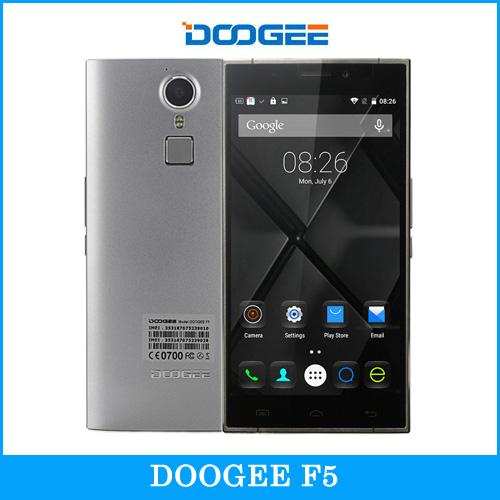 Original DOOGEE F5 5.5'' Screen Android 5.1 Smartphone MT6753 Octa-core 1.3GHz RAM 3GB ROM 16GB Dual SIM FDD-LTE & WCDMA & GSM
