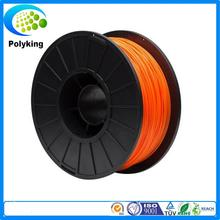 New 2015 3d printer filament orange color dual extruder 3mm abs filament printer 3d parts for createbot,makerbot,reprap etc