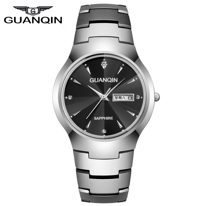 men watches 2015 brand luxury watches tungsten steel quartz watch men's business casual watch 200 meters diving watches men