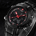 Men s Watches Top Brand Luxury Quartz Wrist Watches Men Full Steel Wristwatches Naviforce Relogio Montre
