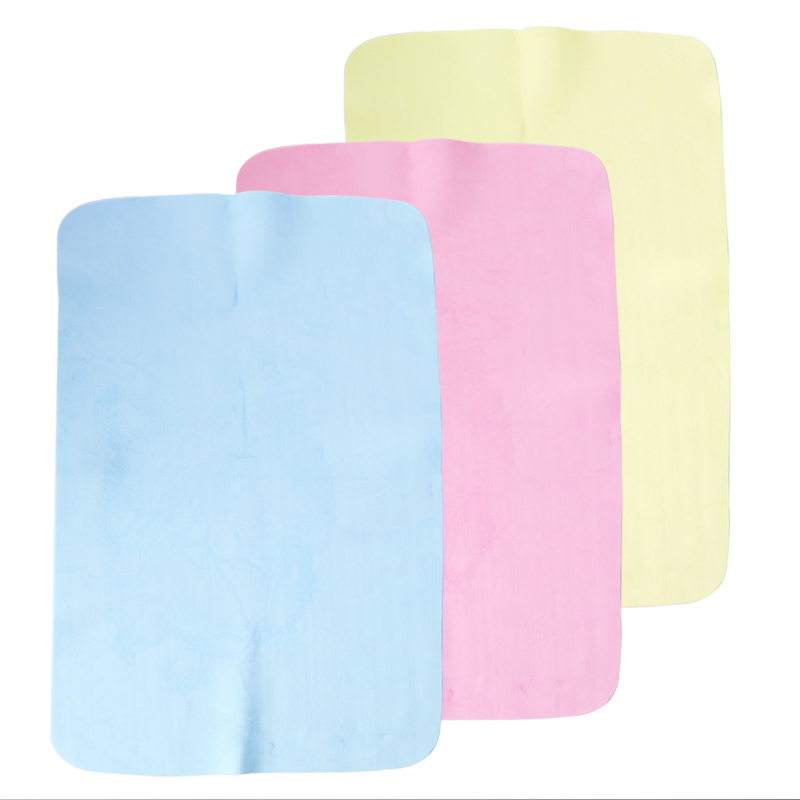 29.5*19.6CM Super Absorption Microfiber Car Care Towel Car Wash Towel Cleaning PEVA Towel Synthetic Suede Chamois Car Styling(China (Mainland))