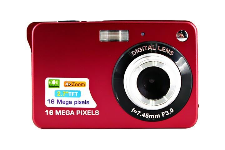 Fantastic 4X Zoom HD Digital Camera 18MP 2.7/' TFT Smile Capture Anti-shake Video Camcorder,Free shipping