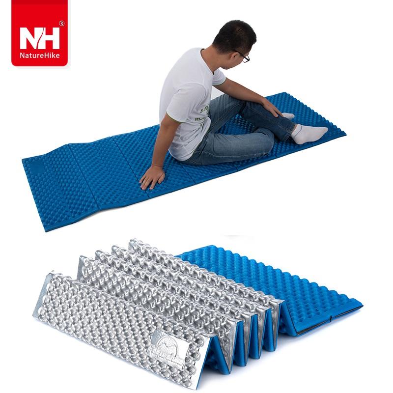 Naturehike ultralight Outdoor camping mat air mattress picnic blanket picnic mat pads NH Aluminum Foil mats Camping Dampproof <br><br>Aliexpress