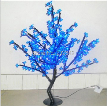 "Holiday Lighting Artificial LED Cherry Blossom Tree 264pcs LEDs 1m/39.5"" Outdoor X'max Christmas Light Blue Color  Free Shippin"