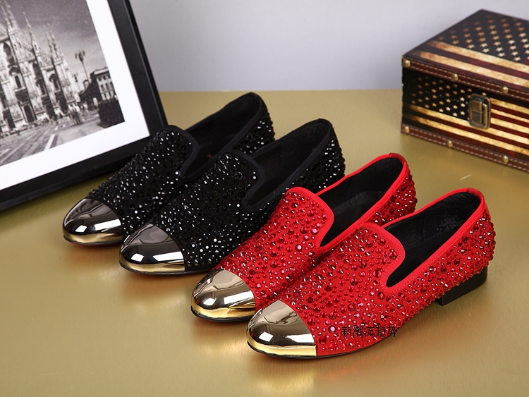Gold Spiked Loafers Mens Where Can I Buy Louboutin Replicas