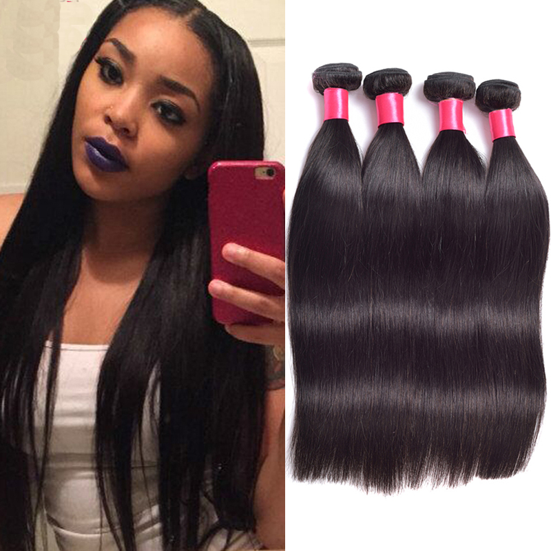 Crocheting Straight Hair : Straight Human Hair Online buy wholesale crochet braid straight hair ...